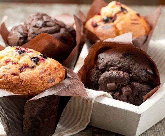 Chocolate and Toffee Apple Muffins